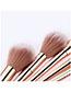 Fashion Zibinjin 12 - Purple Gold - Makeup Brush