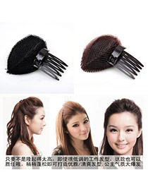 Outdoor Color will be random Bang Hair Device Plastic Hair band hair hoop