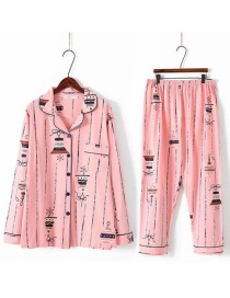 Juego De Pijama Y Pantalones Estampados De Flores