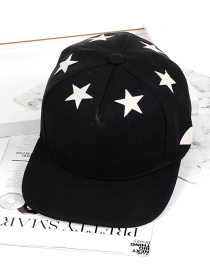 Hip Hop Gorra Decorada Con Estrellas De Moda