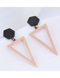 Aretes Triangulares De Moda