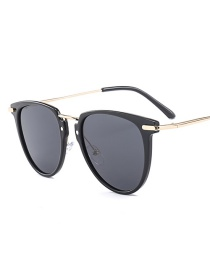 Gafas De Sol Semicircular De Moda