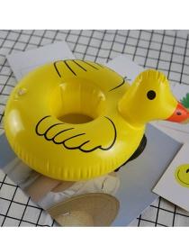Portavasos Flotante En Forma De Pato