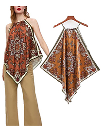 Camisola Estampada De Moda