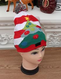 Sombrero De Punto Brillante Colorido