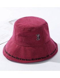 Alfabeto Bordado Sombrero De Pescador