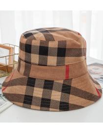 Sombrero De Pescador Plegable Ante Cuadros