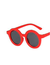 Gafas De Sol Redondas De Resina Para Niños Con Protección Uv