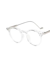 Arroz Circular Circular Plano Plano Glasses Marco