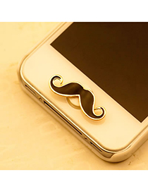 Promo Black Mustache Iphone Style