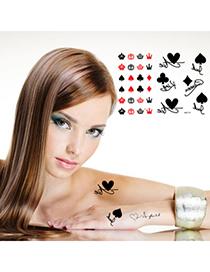 Order black spade crown design