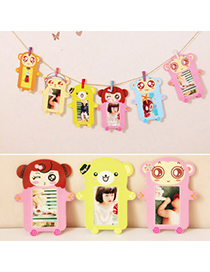 Homemade Color Will Be Random Bear Pattern Simple Design Paper Wood Other Creative Stationery