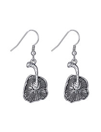 Personality Anti-silver Mushroon Pendant Decorated Simple Design  Alloy Fashion earrings